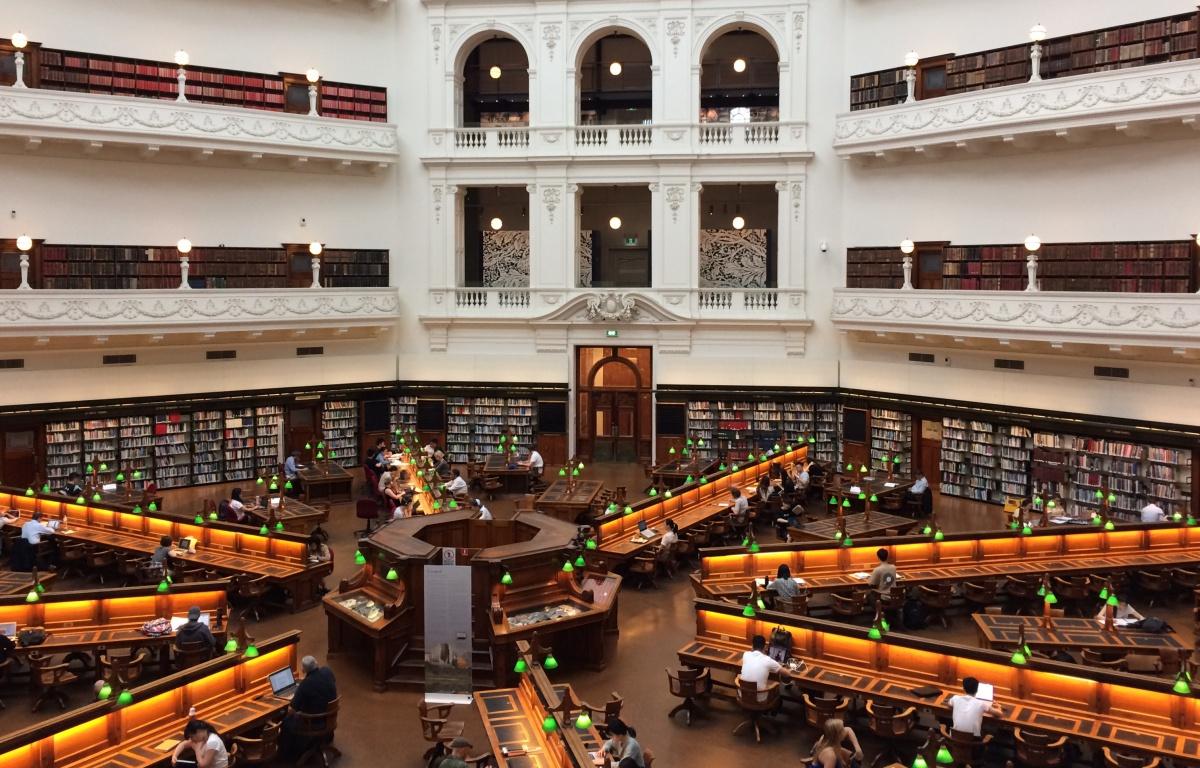 ห้องสมุดรัฐวิกตอเรีย (State Library Victoria)