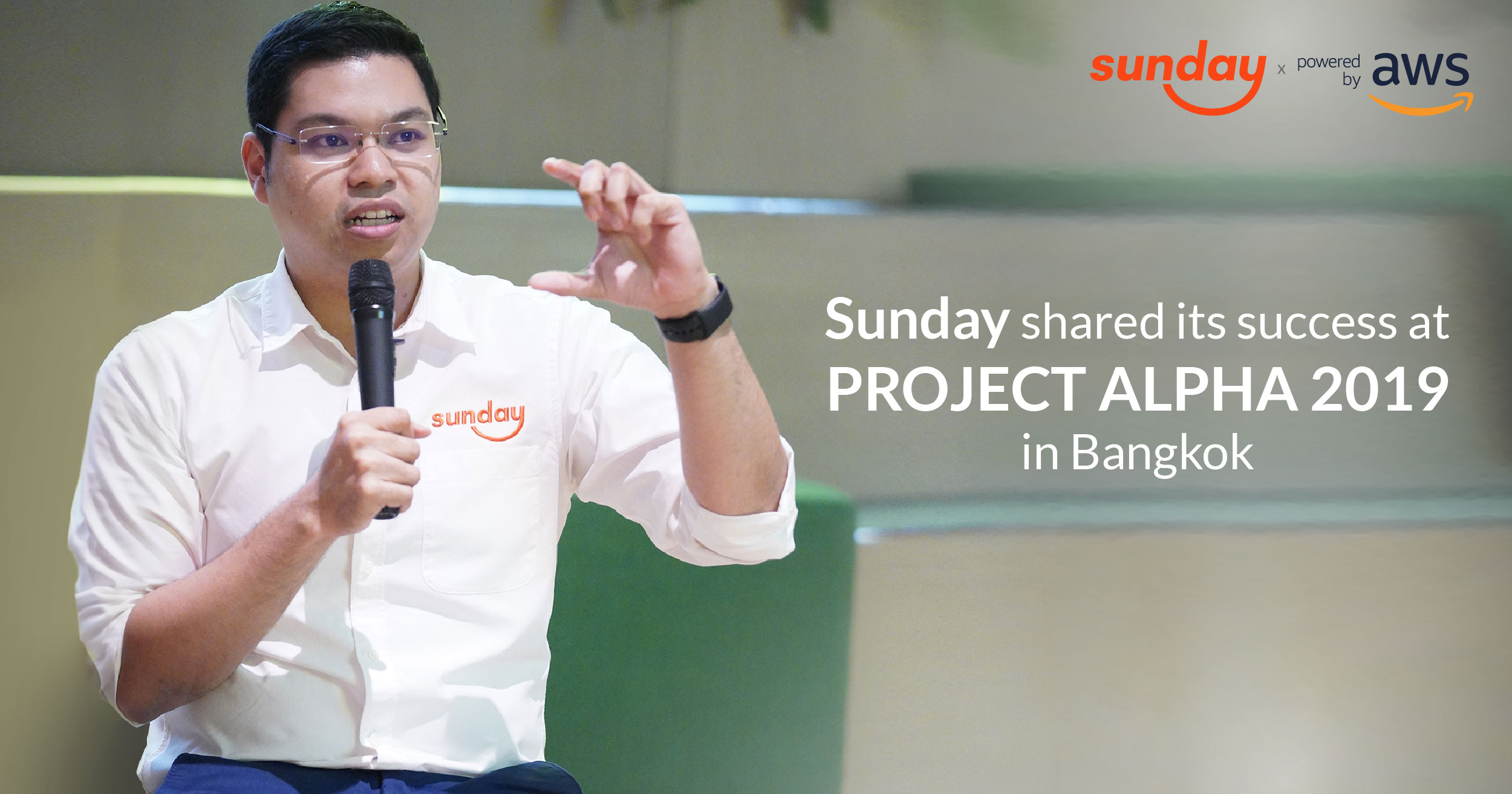 Suradej Panich, Chief Data Scientist of Sunday Ins Co., Ltd, shared the success of Sunday as a leading InsurTech startup in Thailand that is making waves within the insurance industry.
