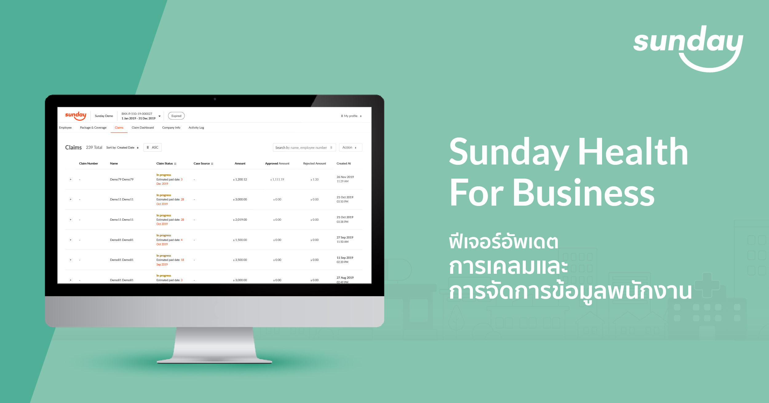 Sunday Health For Business Claim
